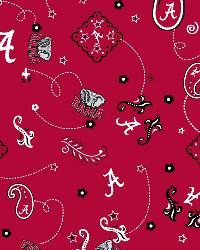 Alabama Crimson Tide Bandana Cotton Print by