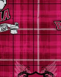Alabama Crimson Tide Plaid Cotton Print by