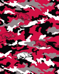 Arkansas Razorbacks Fleece Camo by