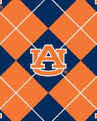Auburn Tigers Argyle Fleece by