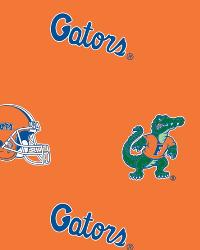 Florida Gators Cotton Print by
