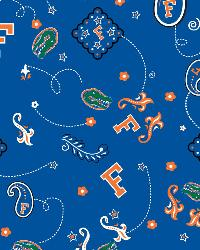 Florida Gators Bandana Cotton Print by