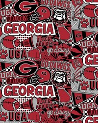 Georgia Bulldogs Pop Art by