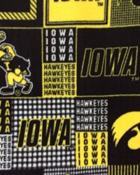 College Fleece Fabric  Iowa Fleece