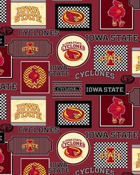 Iowa State Cyclones Cotton Print by