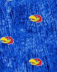 Kansas Jayhawks Tie Dye by