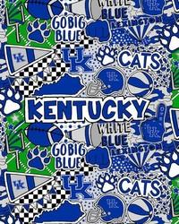 Univeristy of Kentucky UK Pop Art by