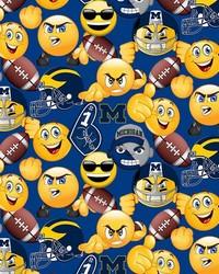 Michigan Wolverines Packed Emojis by