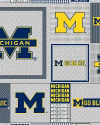 Michigan Wolverines Back to School Fleece by