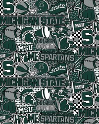 Michigan State Spartans Pop Art by