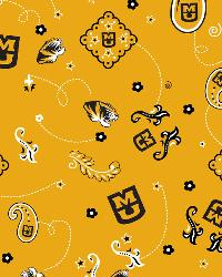 Missouri Tigers Bandana Cotton Print by