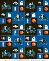 Minnesota Timberwolves Cotton by