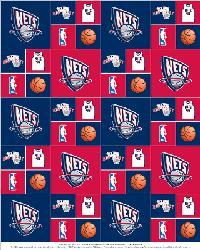 New Jersey Nets Cotton by
