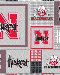 Nebraska Cornhuskers Back to School Fleece by