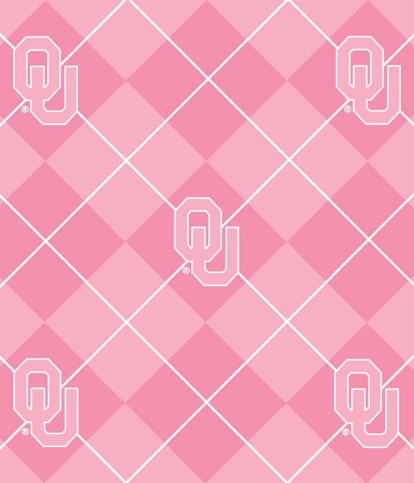 Foust Textiles Inc Pink Oklahoma Sooners Argyle Fleece Search Results