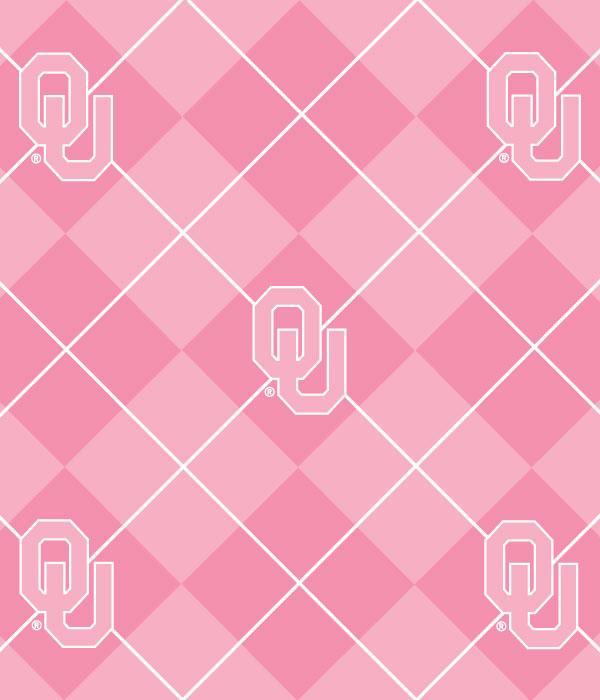 Foust Textiles Inc Fabrics Pink Oklahoma Sooners Argyle Fleece Search Results