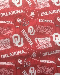Oklahoma Sooners Cotton Red by