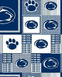 College Fleece Fabric  Penn State Lions Fleece