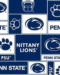 Penn State Lions Block Fleece by