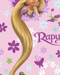 Foust Textiles Inc Disney Rapunzel Long Locks Fleece Fabric