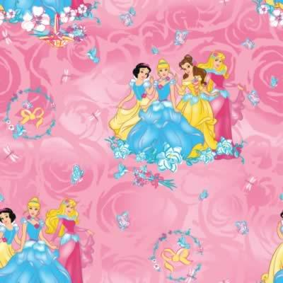 Foust Textiles Inc. Disney Princess Blossom Scenic  Search Results