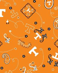 Tennessee Volunteers Bandana Cotton Print by