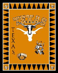 Texas Longhorns Fleece Panel by