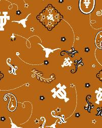 Texas Longhorns Bandana Cotton Print by