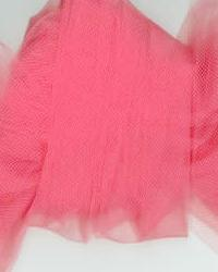 Foust Textiles Inc Tulle 54 T54 Coral Fabric