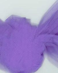 Foust Textiles Inc Tulle 54 T54 Lavender Fabric