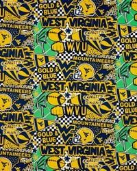 West Virginia Mountaineers Pop Art by
