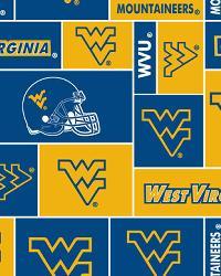West Virginia Mountaineers Block Fleece by