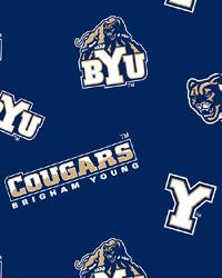 Brigham Young Cougars Fleece by