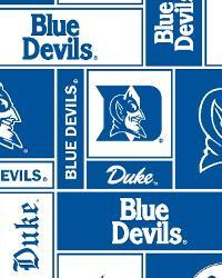 Duke Blue Devils Block Fleece by
