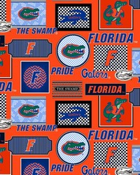 Florida Gators Packed Patches Cotton by