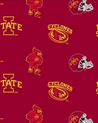 Iowa State Cyclones Red Fleece by
