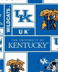 Kentucky Wildcats Block Fleece by