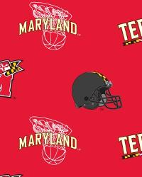 Maryland Terrapins Red Fleece by