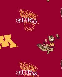 Minnesota Golden Gophers Red Fleece by