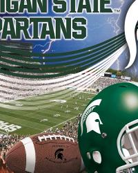 Michigan State Spartans Fleece Panel by