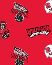 North Carolina State Wolfpack Red Fleece by