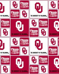 Oklahoma Sooners Cotton Print by