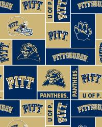 Pittsburgh Panthers Block Fleece by