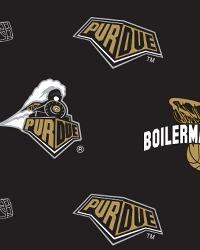 Purdue Boilermakers Black Fleece by