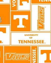 Tennessee Volunteers Block Fleece by