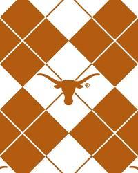 Texas Longhorns Argyle Fleece by