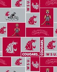 Washington State Cougars Block Fleece by