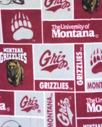 Montana Grizzlies Block Fleece by