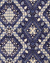 Eclectic Elements Fabric  A1598 Azure
