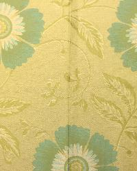 Large Print Floral Fabric  LIlle Lemongrass